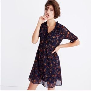 Madewell Freesia Climbing Vine Dress Size 2